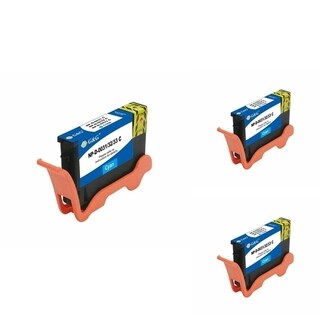 Refilled Insten Cyan Non-OEM Ink Cartridge Replacement for Dell Series 31/ 32/ 33/ 34