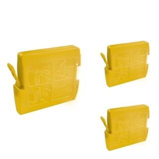 INSTEN Yellow Cartridge Set for Brother LC-51Y (Pack of 3)