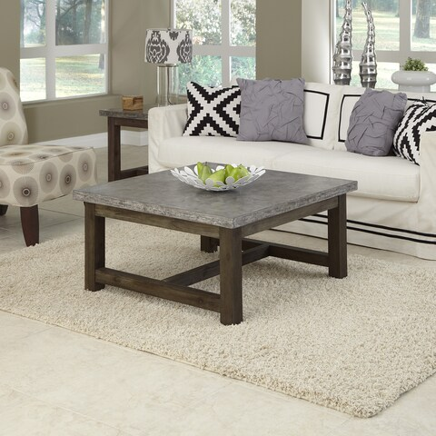 Pine Canopy Catmint Chic Square Coffee Table