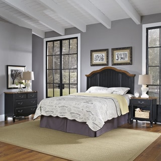 The French Countryside King/ California King Headboard, Night Stand, and Chest by Home Styles
