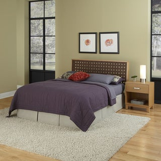Home Styles The Rave King/ California King Headboard and Night Stand