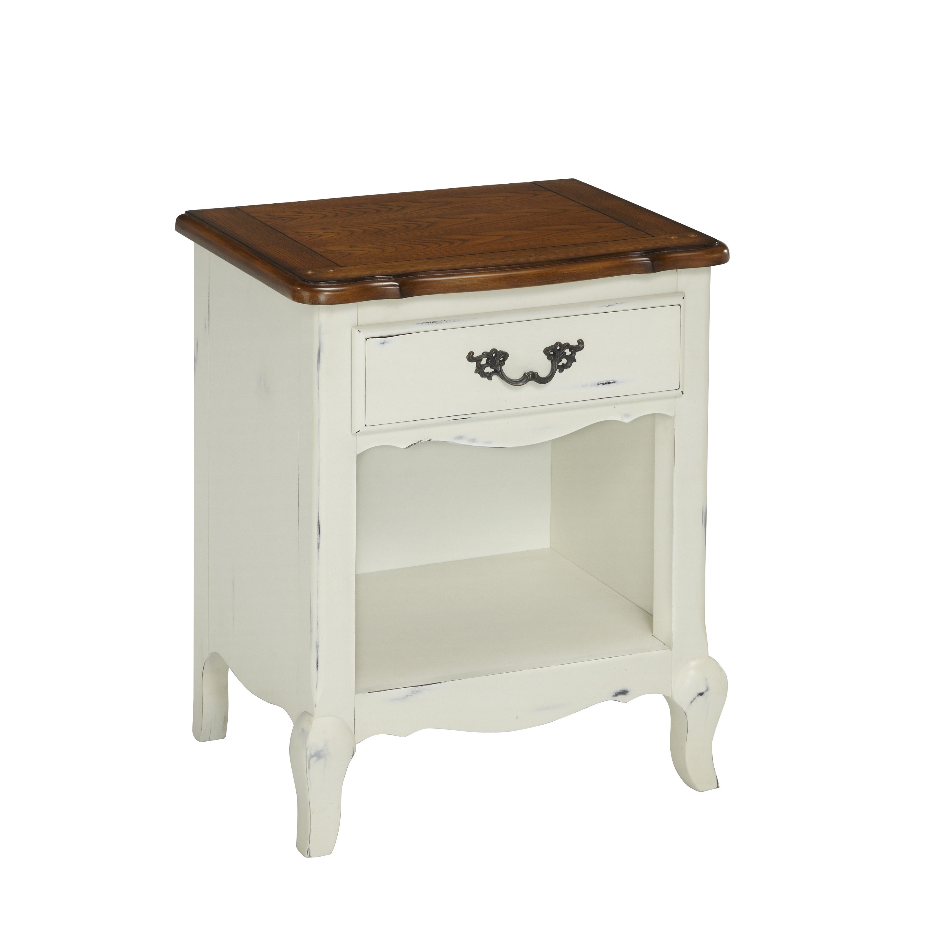 The French Countryside Night Stand by Home Styles (White ...
