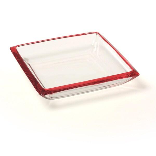 Red Vanilla 7.5-inch Freshness Mix & Match Red Bowl