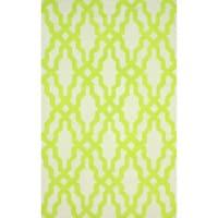 nuLOOM Handmade Wool Moroccan Trellis Grey Rug (7'6 x 9'6) - 7'6 x 9'6