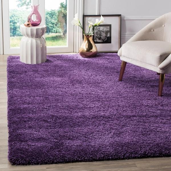 Safavieh Milan Shag Purple Rug - 8'6 x 12'