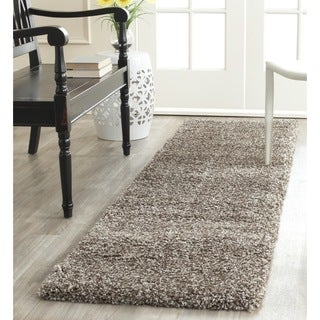 Safavieh Milan Shag Grey Runner (2' x 8')