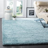 Safavieh Milan Shag Aqua Blue Rug (3' x 5')