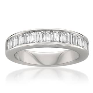 Baguette Women\'s Wedding Bands - Bridal Wedding Rings For Less ...