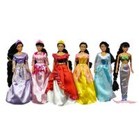 Fairy Tale Princess 6-piece Princess Doll Collection
