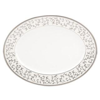 Lenox Opal Innocence Silver 13-inch Oval Platter