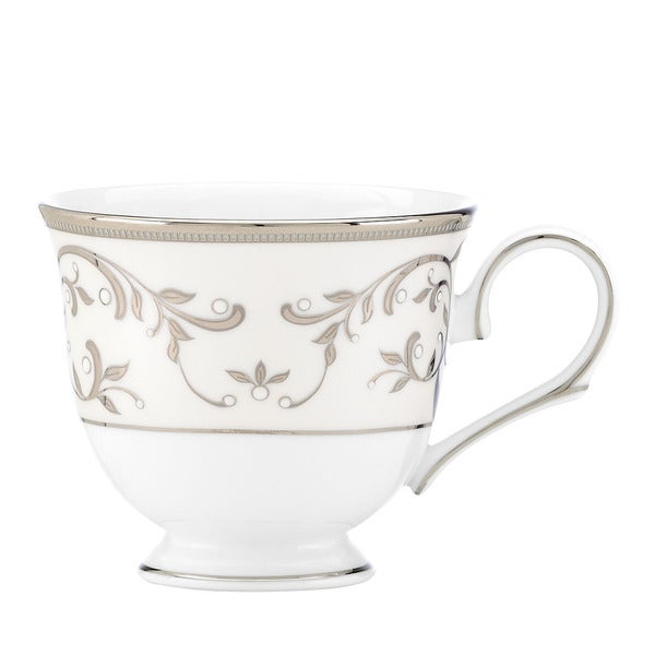Lenox Opal Innocence Silver Tea Cup