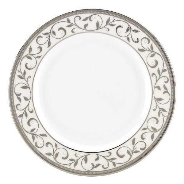 Lenox Opal Innocence Silver Butter Plate