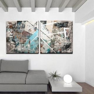 Ready2HangArt 'Abstract' 2-Pc Canvas Wall Art Set