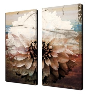 Ready2HangArt 'Daisy' Oversized Canvas Wall Art (Set of 2)