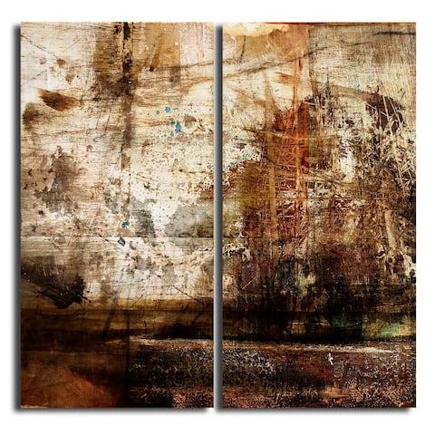 Ready2HangArt 'Abstract' Oversized Canvas Wall Art (Set of 2)
