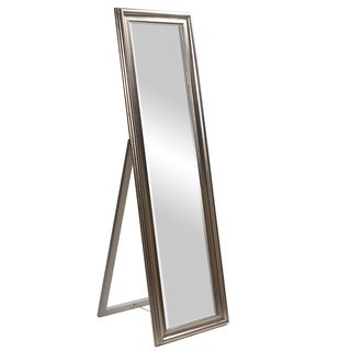 Taylor Silver Standing Mirror