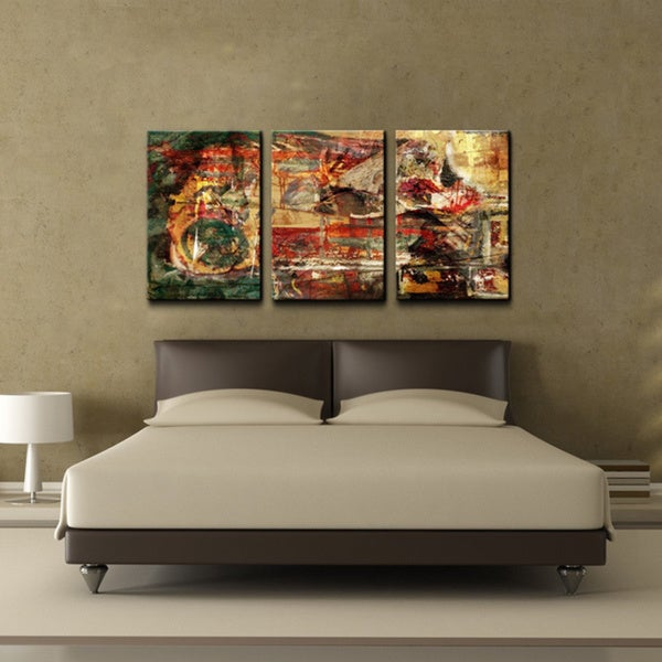 ready2hangart 39 abstract 39 oversized canvas wall art set of. Black Bedroom Furniture Sets. Home Design Ideas