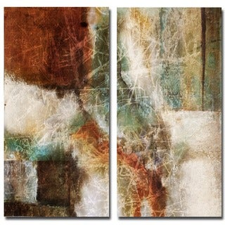 Ready2HangArt 'Abstract' Over-sized 2-piece Canvas Wall Art Set