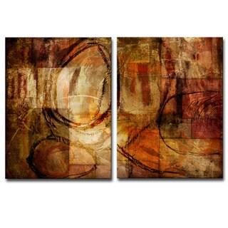Ready2HangArt 'ETABX III' Multi-panel Oversized Abstract Canvas Wall Art