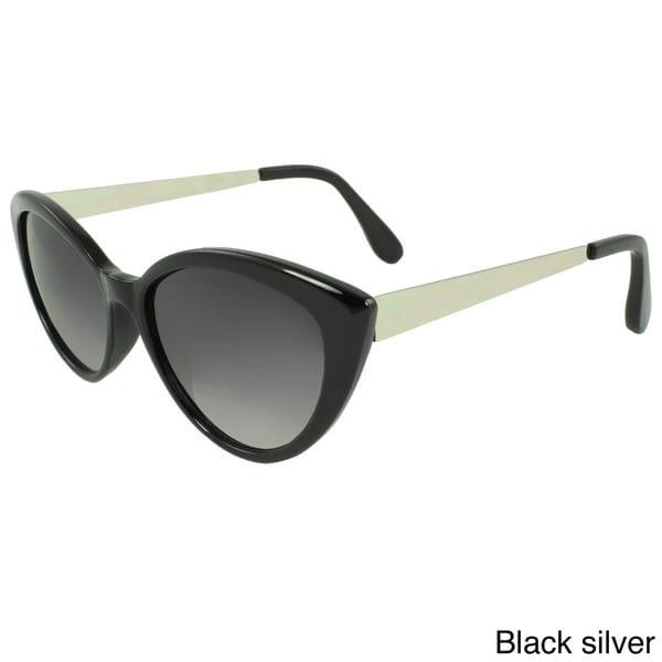 SWG Eyewear Women's Plastic Cat Eye Sunglasses
