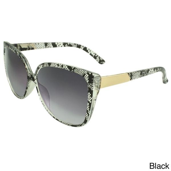 SWG Eyewear Women's Lace Detail Sunglasses