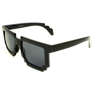 SWG Eyewear Black Zigzag Sunglasses