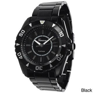 Geneva Platinum Men'sTachymeter Link Watch