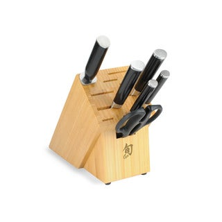 Shun DM2003B Classic 7-Piece Bamboo Block Set