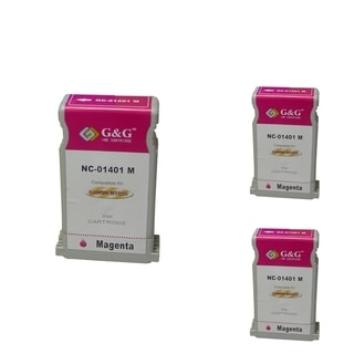 INSTEN Cartridge Set for Canon BCI-1401 (Pack of 3)