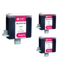 Insten Magenta Non-OEM Ink Cartridge Replacement for Canon BCI-1411M/ 1411 M