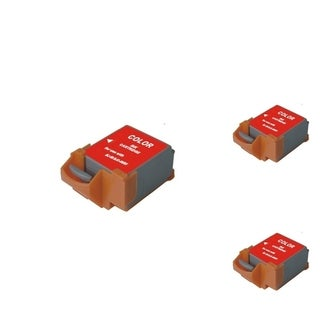 INSTEN Color Cartridge Set for Canon BCI-11C (Pack of 3)