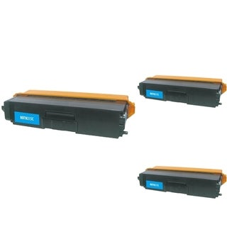 INSTEN Cyan Cartridge Set for Brother TN310 (Pack of 3)