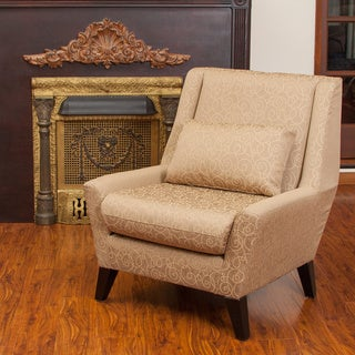 Naomi Nugget Fabric Accent Chair by Christopher Knight Home