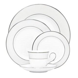 Lenox Opal Innocence Stripe 5-piece Dinnerware Place Setting