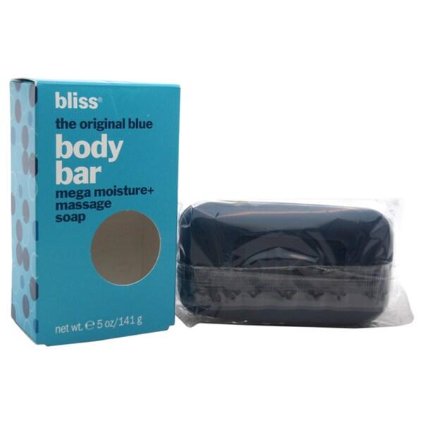 Bliss Body Bar Mega Moisture Original Blue 5 Ounce Mage Soap
