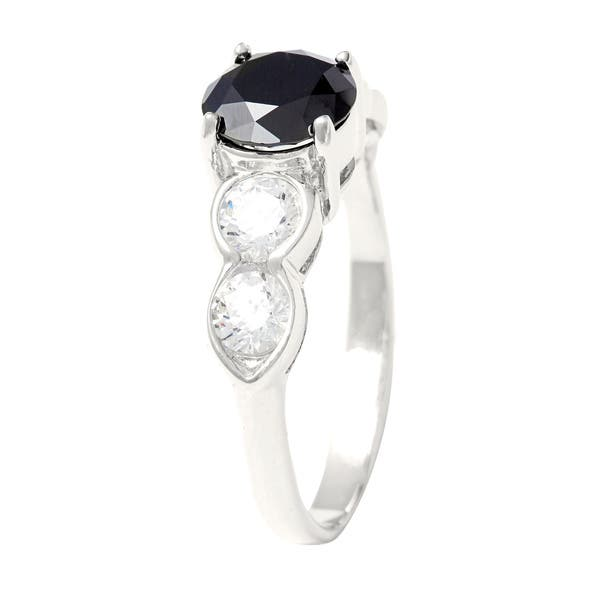 Shop Sunstone Sterling Silver Ring Made With Swarovski Zirconia