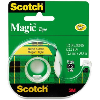 Scotch Clear Magic Tape with Refillable Dispenser