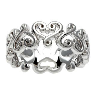 Sterling Essentials Silver Renaissance Heart Ring|https://ak1.ostkcdn.com/images/products/8403727/P15704199.jpg?impolicy=medium