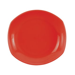 Dansk Classic Fjord Chili Red Salad Plate