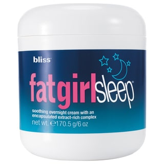 Bliss Fat Girl Slim Sleep 6-ounce Smoothing Overnight Cream