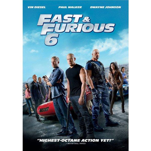 Fast & Furious 6 (DVD)