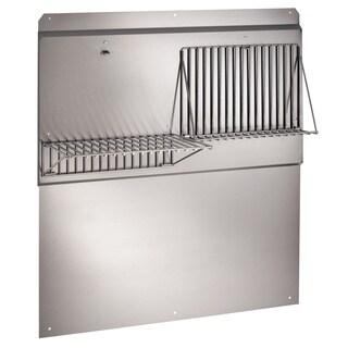 Broan RMP4204 42-inch Wide Professional-style Backsplash and Fold Down Racks
