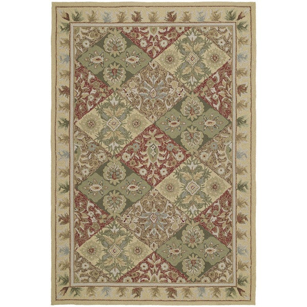 Fiesta Multi-colored Indoor/ Outdoor Panel Rug (5' x 7'6)
