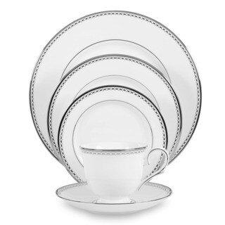 Lenox Pearl Platinum 5-piece Dinnerware Place Setting