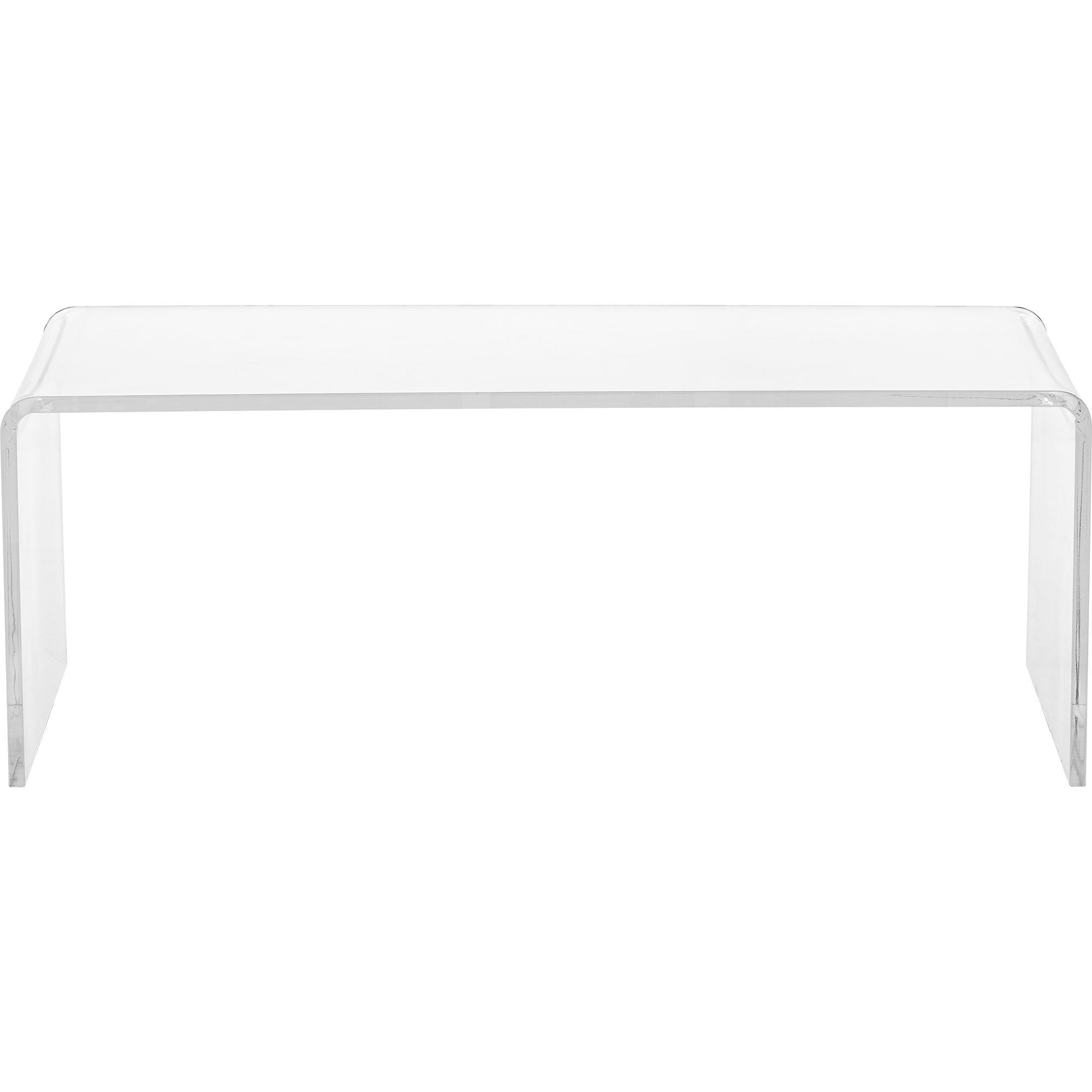 Modern Clear Acrylic Coffee Table On Sale Overstock 8407290