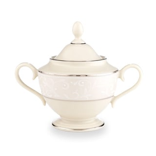 Lenox Pearl Innocence Sugar Bowl
