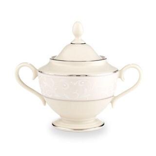 Lenox Pearl Innocence Sugar Bowl