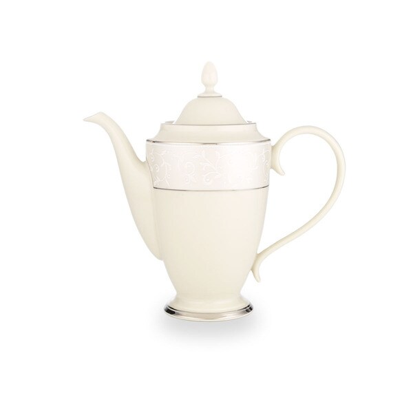 Lenox Pearl Innocence Coffee Pot