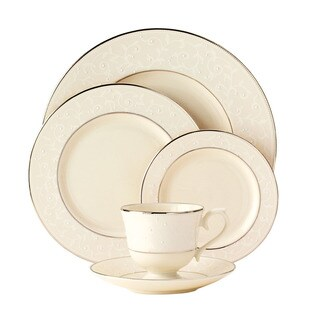Lenox Pearl Innocence 5-piece Dinnerware Place Setting