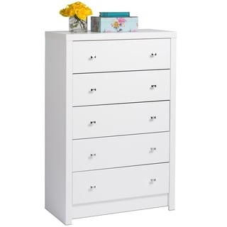 Pure White Nolita 5-drawer Chest